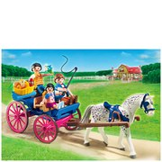 Playmobil Horse Farm Horse Drawn Carriage (5226)