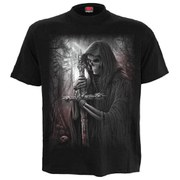 Spiral Men's SOUL SEARCHER Plus Size T-Shirt - Black