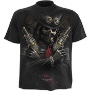 Spiral Men's STEAM PUNK BANDIT T-Shirt - Black