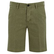 Pretty Green Men's Orton Linen Shorts - Green