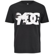 DC Men's Brickline Printed Short Sleeve T-Shirt - Black
