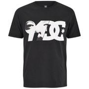 DC Men's Brickline Printed Short Sleeve T-Shirt - Black