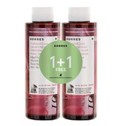Korres Limited Edition 1 + 1 Japanese Rose Shower Gel (250ml)
