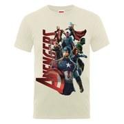 Marvel Avengers Men's Age of Ultron Team Avengers Men's T-Shirt - Nude