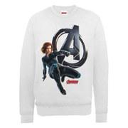 Marvel Avengers Age of Ultron Black Widow Sweatshirt - Ash Grey