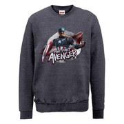 Marvel Avengers Age of Ultron Captain America The First Avenger Sweatshirt - Dark Grey