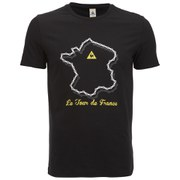 Le Coq Sportif Tour de France 2015 N2 Short Sleeved T-Shirt - Black