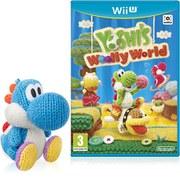 Yoshi's Woolly World+ Light Blue Yarn Yoshi amiibo Pack