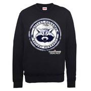 Marvel Guardians of the Galaxy Rocket Powered Sweatshirt - Black