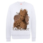Marvel Guardians of the Galaxy Groot Sweatshirt - White