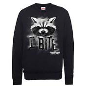 Marvel Guardians of the Galaxy I Bite Sweatshirt - Black