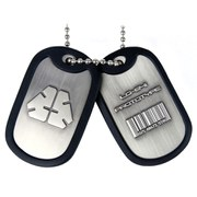 Metal Gear Solid Rising LQ-84I Dog Tags