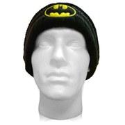 DC Comics Batman Acrylic Mask Classic Logo Knit Beanie Hat