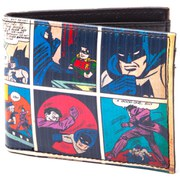 DC Comics Batman Classic Comic Story Bi-Fold Wallet