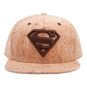 DC Comics Superman Crimson Iconic Logo Snapback Baseball Cap