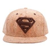 DC Comics Superman Crimson Iconic Logo Snapback Baseball Cap
