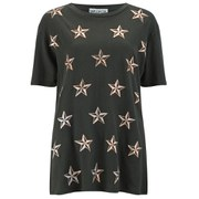Wildfox Women's Nautical Stars T-Shirt - Black