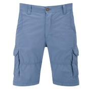 Threadbare Men's Fargo Cargo Shorts - Washed Blue