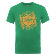 Star Wars Men's Tie Fighter Squadron Badge T-Shirt - Kelly Green