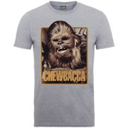 Star Wars Men's Chewie T-Shirt - Heather Grey