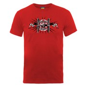 Star Wars Men's Galactic Empire Burst T-Shirt - Red
