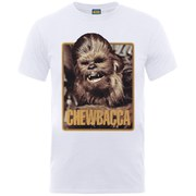 Star Wars Men's Chewie T-Shirt - White