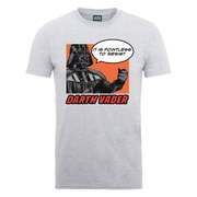 Star Wars Men's Darth Vader Resist Popart T-Shirt - Heather Grey