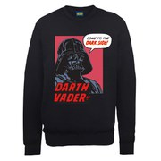 Star Wars Darth Vader Dark Side Sweatshirt - Black