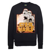 Star Wars Stormtroopers Sweatshirt - Black