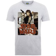 Star Wars Men's Han Solo T-Shirt - Heather Grey