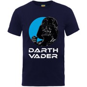 Star Wars Men's Darth Vader T-Shirt - Navy