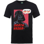 Star Wars Men's Darth Vader Dark Side T-Shirt - Black