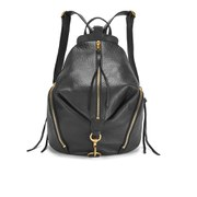 Rebecca Minkoff Women's Julian Backpack - Black/Gold Hardware