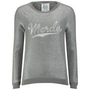 Zoe Karssen Women's Merde Sweatshirt - Grey