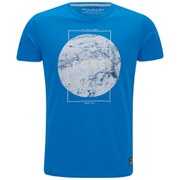 Jack & Jones Men's NOOS Square Short Sleeve Crew Neck T-Shirt - Imperial Blue