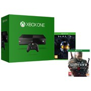 Xbox One Console - Includes Halo: The Master Chief Collection & The Witcher 3