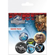 Jurassic World Mix - Badge Pack