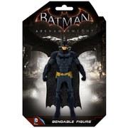 NJCroce DC Comics Batman Arkham Knight Batman 6 Inch Bendable Action Figure
