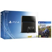 Sony PlayStation 4 500GB Console - Includes Farming Simulator 15