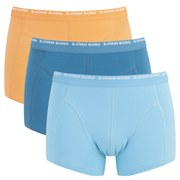 Bjorn Borg Men's 3 Pack Boxer Shorts - Blue Grotto