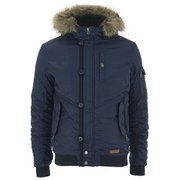 Jack & Jones Men's Originals Rob Bomber Jacket - Navy