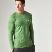 Myprotein långärmad Performance tröja, Herrar - Green Marl