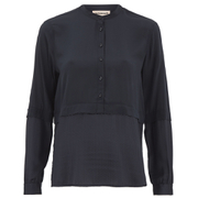 Custommade Women's Noor Shirt - Dark Navy