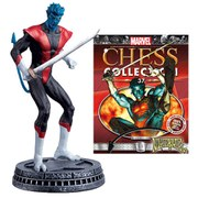 Marvel X-Men Nightcrawler White Pawn Chess Piece with Collector Magazine