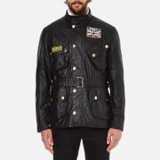 Barbour International Men's Union Jack International Coat - Black