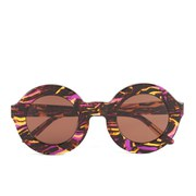Wildfox Women's Twiggy Sunglasses - Montage/Brown Sun