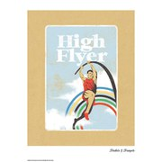 Trinkets and Trumpets High Flyer Print