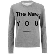 Wood Wood Women's Maya Slogan Sweatshirt - Grey
