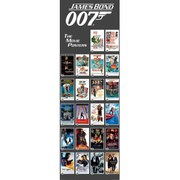 James Bond The Movie Posters - 21 x 59 Inches Door Poster