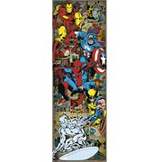 Marvel Comics Heroes Retro - 21 x 59 Inches Door Poster